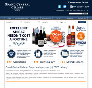 Grand Central Cellars - Online Wine Store